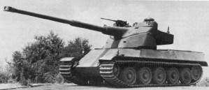 French AMX-50 Tank model the AMX-50-120