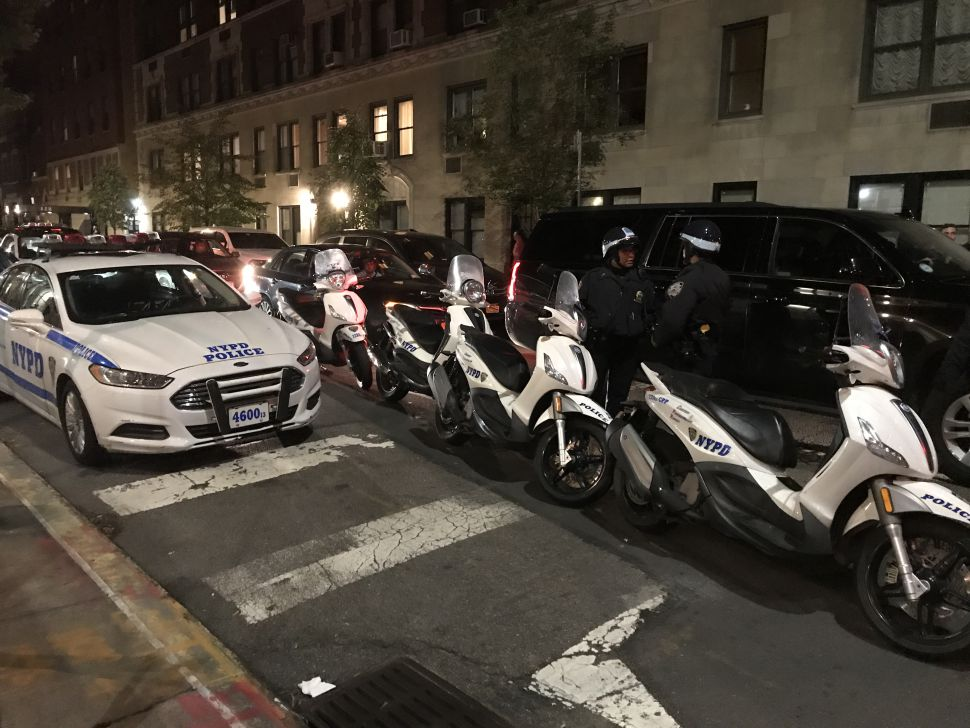 Cops protect Proud Boys meeting at the Metropolitan Republican Club on the Upper East Side