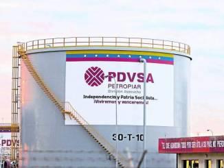 Venezuela PDVSA oil