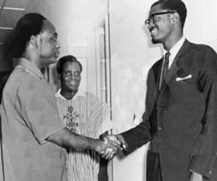 Kwame Nkrumah and Patrice Lumumba