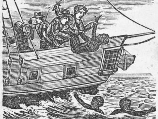 Africans thrown overboard for insurance money