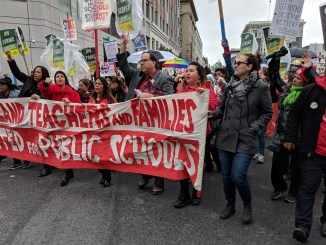 Oakland teachers strike