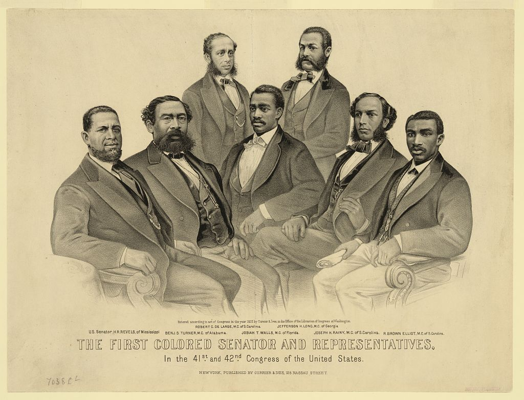First African American Congressional representatives