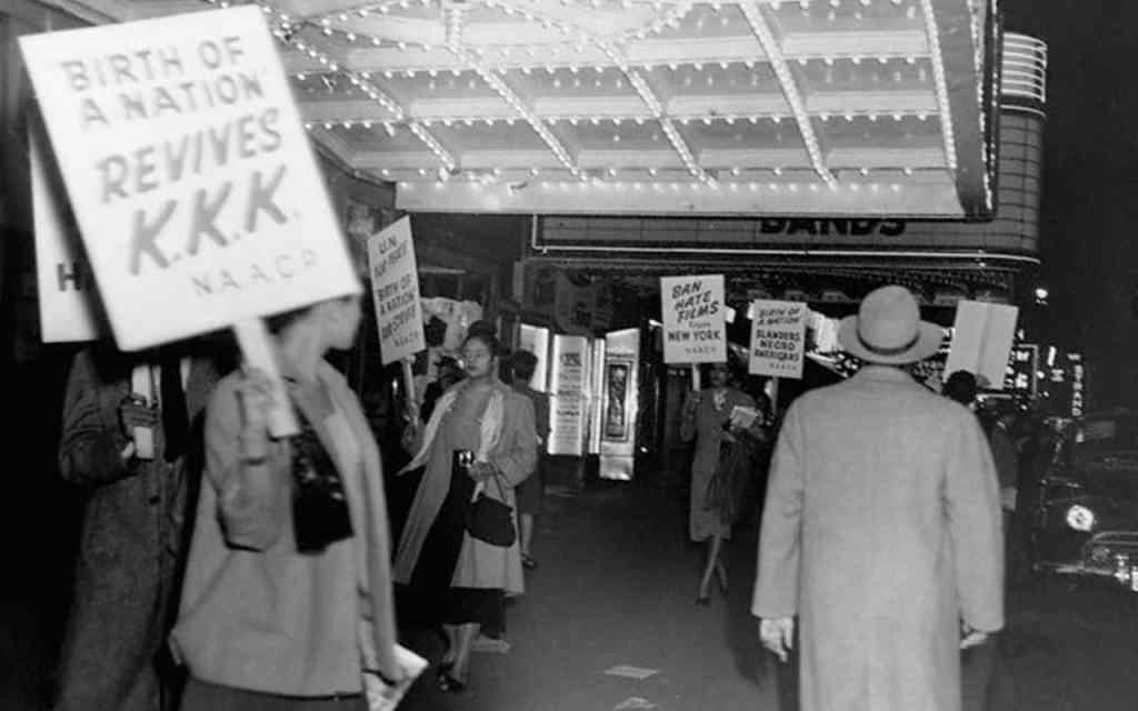 NAACP Picket against Birth of a Nation