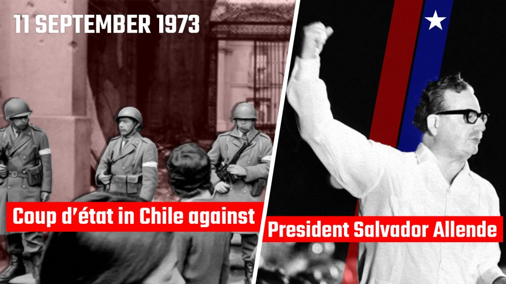 Chile coup of September 1973 engineered by the United States