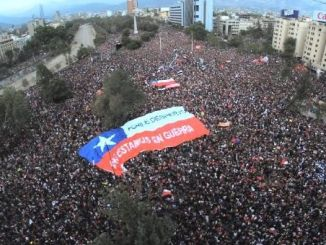 Chile demonstrations involve over one million people
