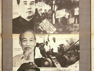 Black Panther newspaper in solidarity with DPRK, China and North Vietnam