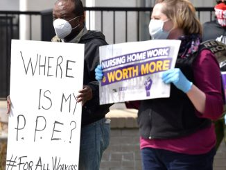Detroit healthcare workers protest health and safety dangers amid COVID-19