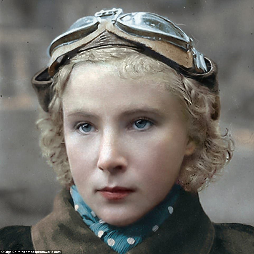 Lydia Vladimirovna Litvyak-Soviet Air Force fighter pilot