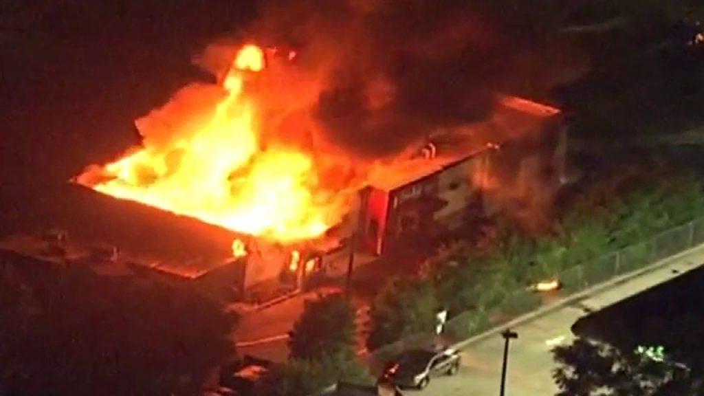 Atlanta erupts after Rayshard Brooks police execution