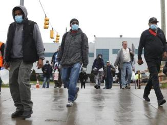 FCA Warren Truck plant workers returned to work amid COVID-19 pandemic