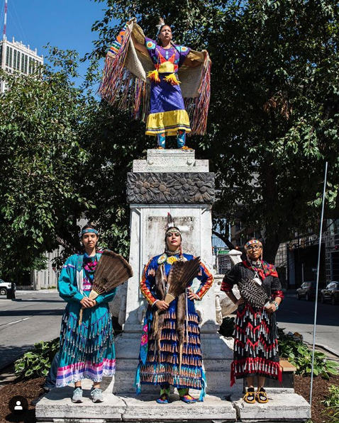 Over the Fourth of July, These Indigenous Women Healed Colonized Spaces