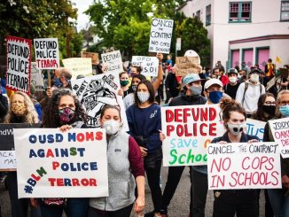 Defund the police, Oakland California
