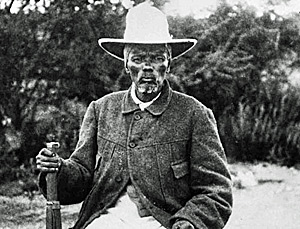 Namibia freedom fighter Henrik Witbooi fought German colonialism in the early 20th century