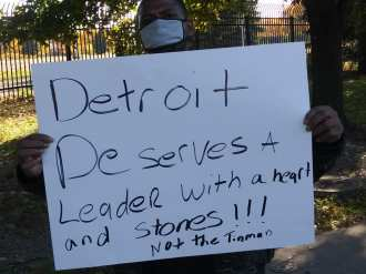State Fairground Development Coalition wages struggle in Detroit against Amazon