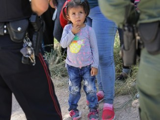 Federal law enforcement separating families at the southern border with Mexico