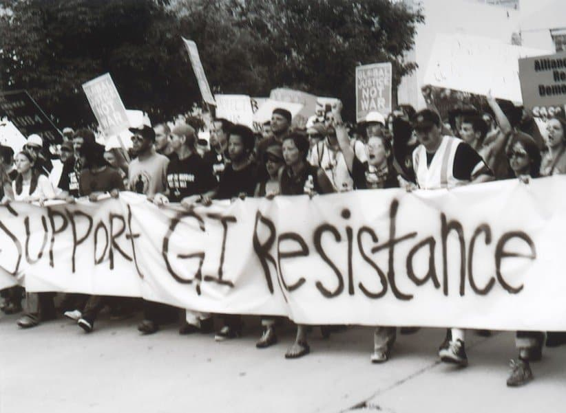 Widespread public support for GIs who refused illegal orders during the Vietnam era