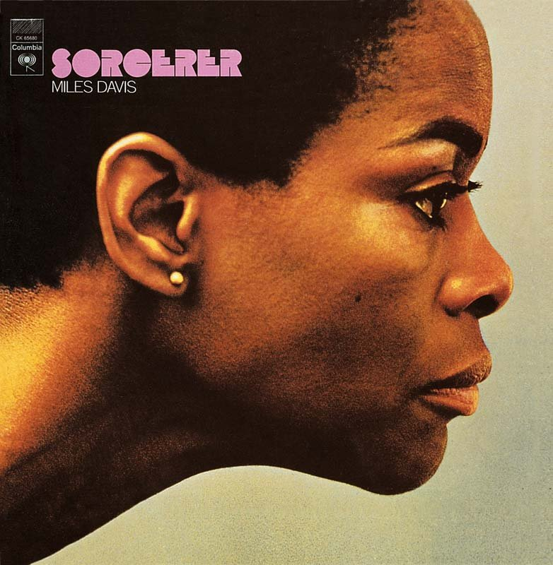 Cicely Tyson on the cover of the Miles Davis album Sorcerer