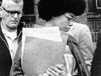Assata Shakur in detention in New Jersey prior to her liberation