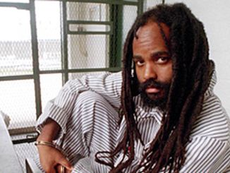 Mumia Abu-Jamal while he was on death row for over two decades in Pennsylvania