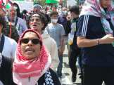 Free Palestine demonstration comes amid the renewed bombing of Gaza