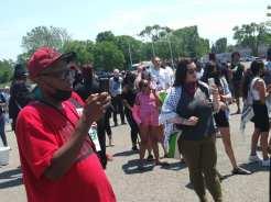 Racial Profiling Across 8 Mile Rally on June 5, 2021