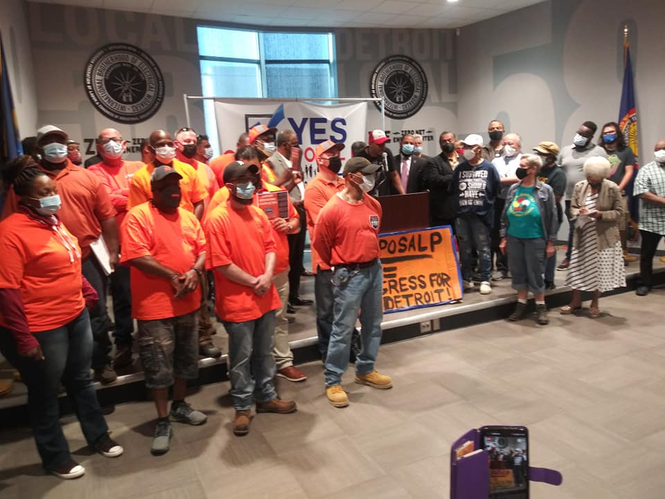 Detroit Says Vote Yes on Proposal P with IBEW and LIUNA