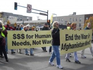 Oct7-antiwar demo1_taken by Kim DeFranco