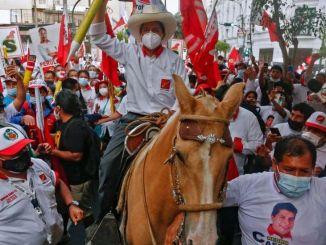 Peru President Pedro Castillo