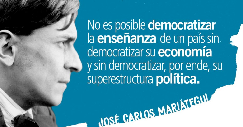 Peru socialist Jose Carlos Mariategui La Chira (1894-1930)
