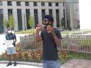 Detroit Will Breathe organizer Allen Dennard speaks out for the release of CERA funds, Sept. 8, 2021