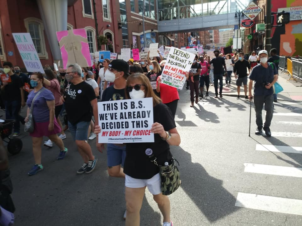 Detroit Women's March for reproductive equality on Sat. Oct. 2, 2021