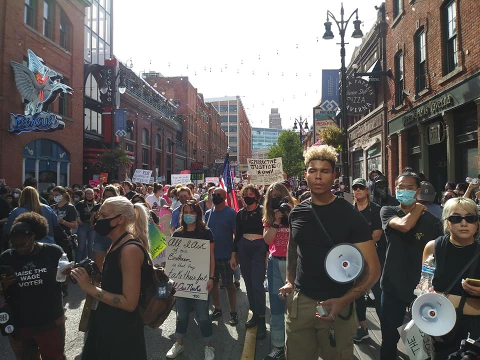 Detroit Women's March to defend reproductive rights, Oct. 2, 2021
