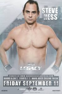 mixed martial arts, legacy fighting