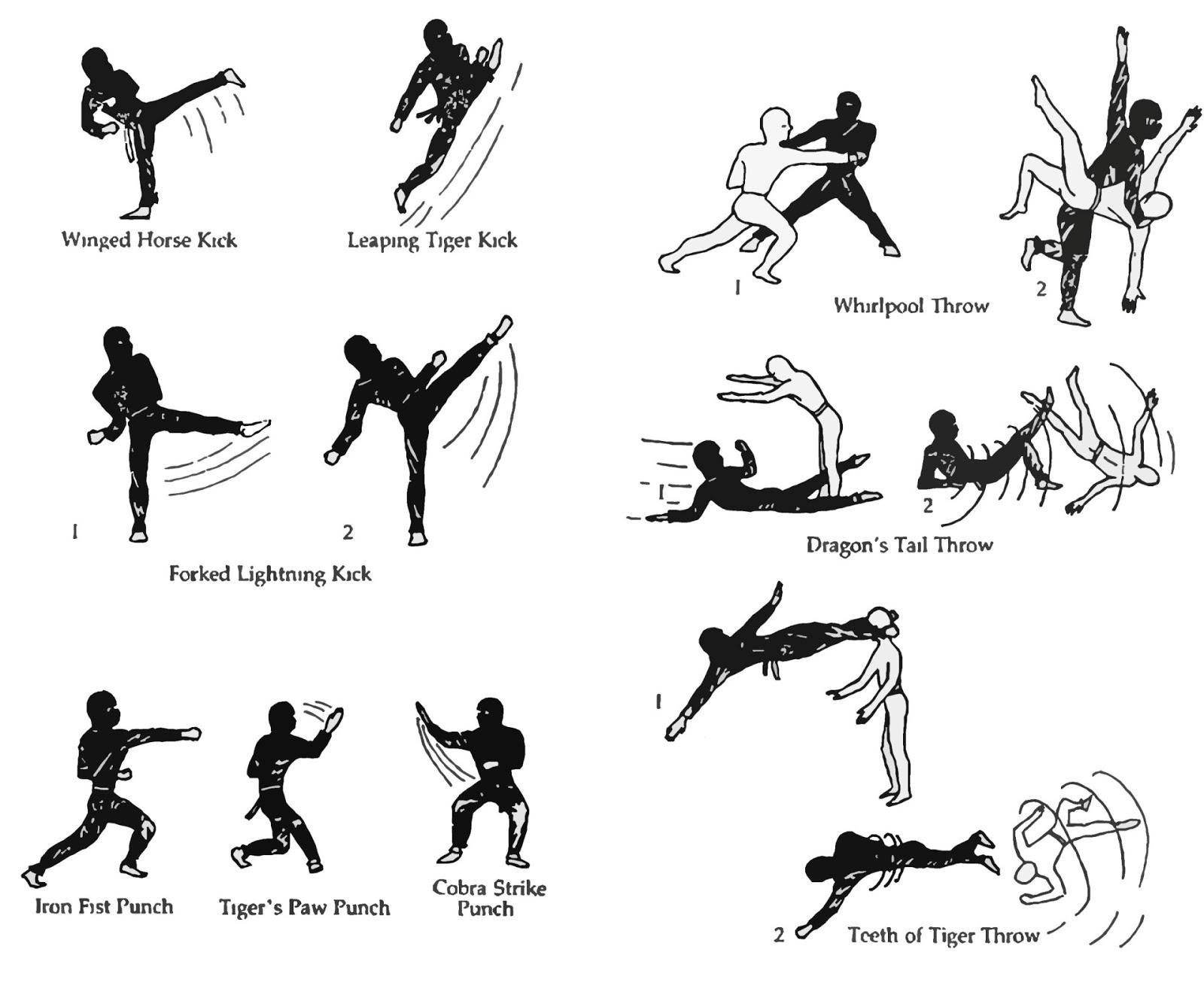 Shotokan Karate Kata List