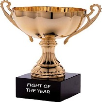 Fight of the Year trophy