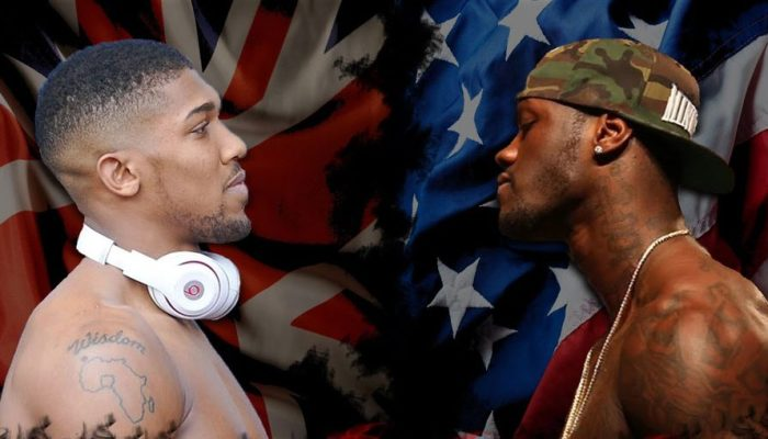 Finally! Anthony Joshua And Deontay Wilder To Meet