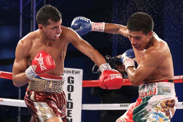 Boxing news machado beats morales in clash of 130lb - Hector santos ...