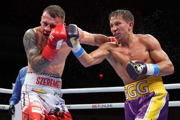 Boxing: Gennadiy Golovkin And Kamil Szeremeta Fight Night