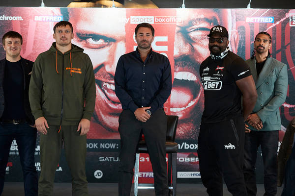 Matchroom Boxing Usyk V Chisora Press Conference