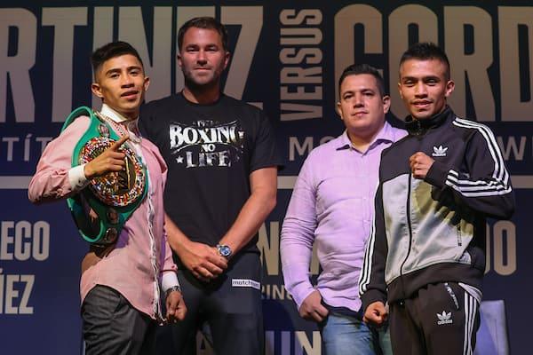 Julio Cesar Martinez Vs Joel Cordova Final Press Conference
