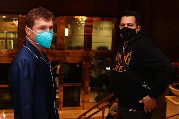 Boxeo: Canelo Alvarez Vs Avni Yildirim Arrivals