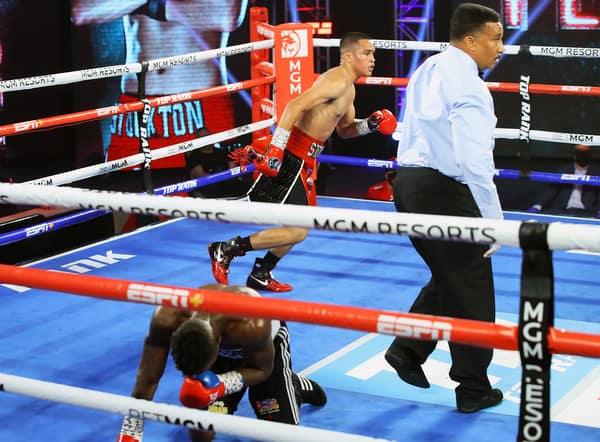 Gabriel Flores Jr Vs Josec Ruiz Knockdown