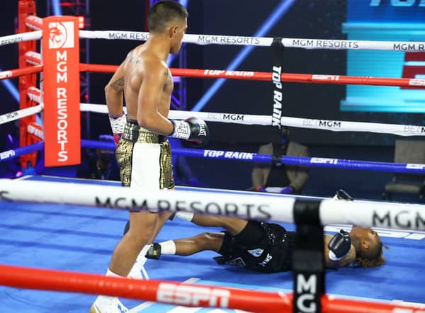 Joshua Greer Vs Michael Plania Knockdown