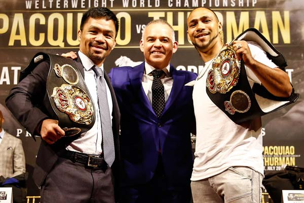 Manny Pacquiao motivated by Keith Thurman's comments
