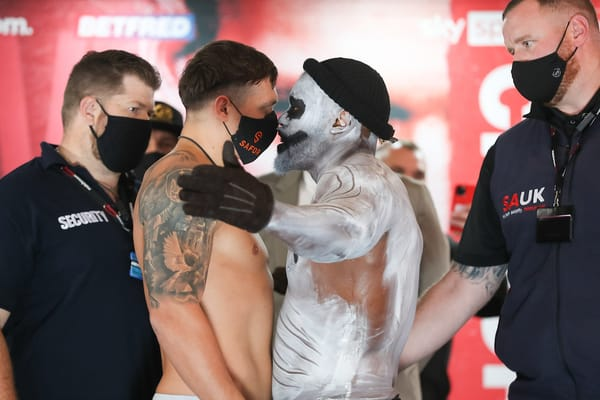 Matchroom Boxing Usyk V Chisora Weigh In