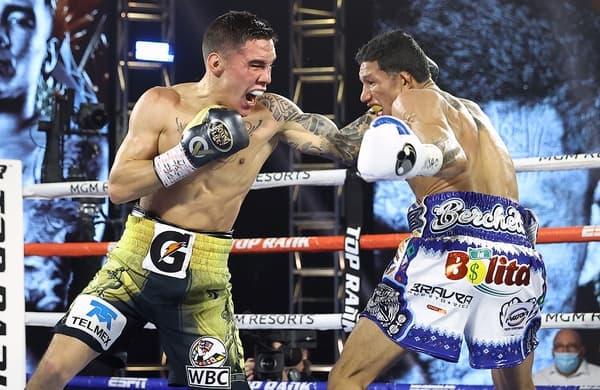 Miguel Berchelt V Oscar Valdez Fight Night