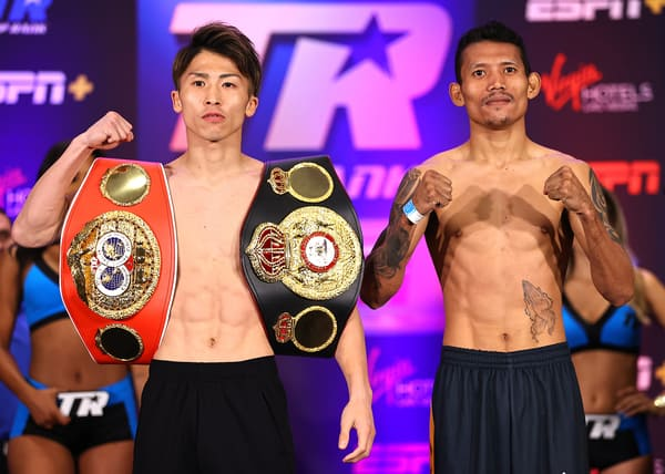 Naoya Inoue V Michael Dasmarinas Weigh In