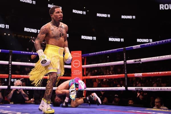 Sho Davis Barrios Ppv Atlanta Fight Night Westcott 130