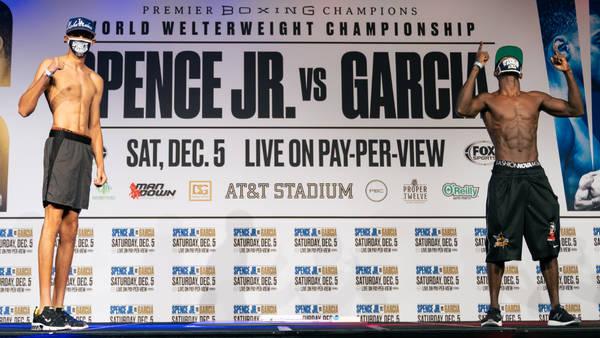 Errol Spence Jr. VS. Danny Garcia: Welterweight showdown in Texas this weekend